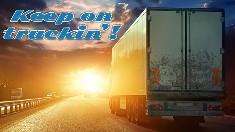 Google Pigeon - Sigue Truckin '