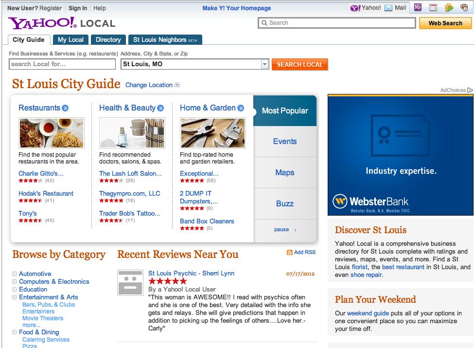 ¿Se centrará el nuevo director ejecutivo de Yahoo en las empresas locales?