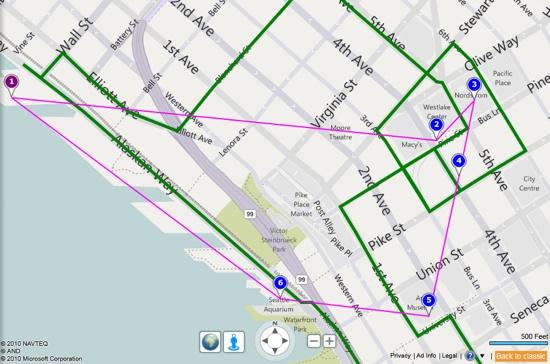 ¿Yendo a lugares?  Bing Maps optimiza sus viajes