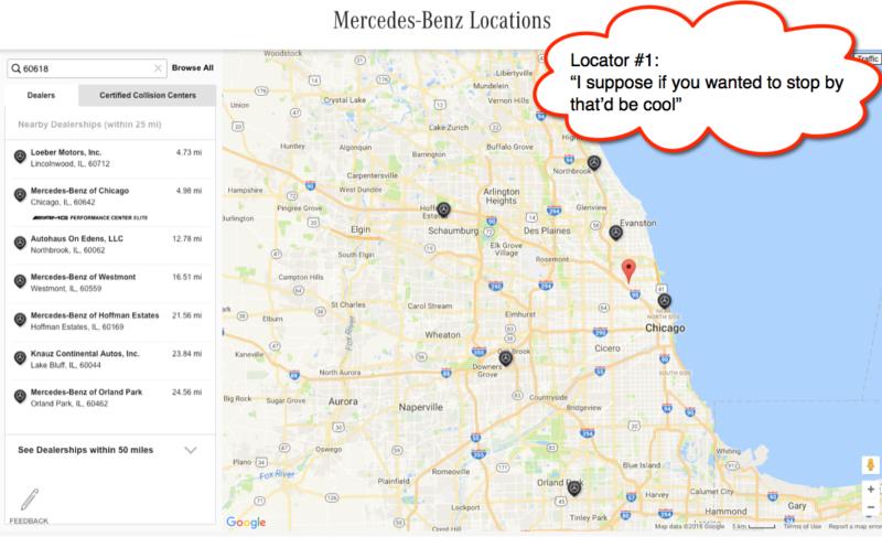 Localizador de Mercedes Benz