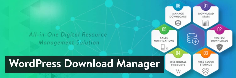 Complemento de WordPress Download Manager