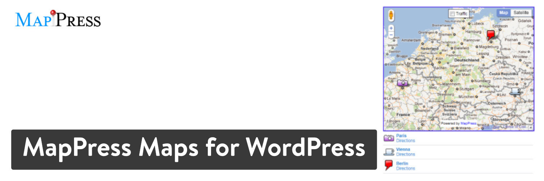 MapPress Maps para WordPress