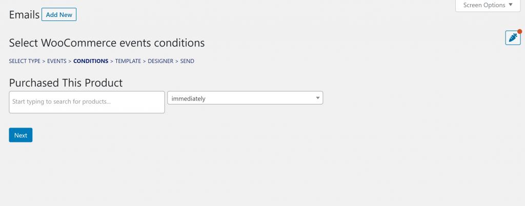 Cómo solicitar comentarios del cliente por correo electrónico: Correo electrónico del producto comprado de MailPoet