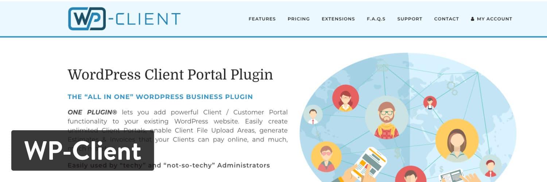 Complemento de WordPress WP-Client