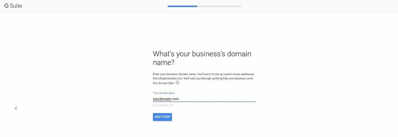 registro de g suite nombre de dominio