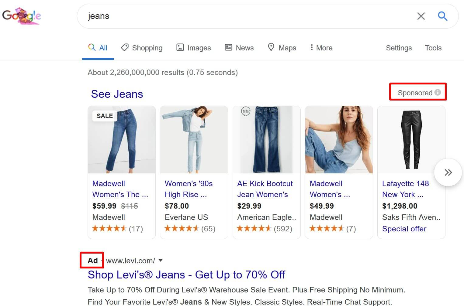 """Google está optimizando el etiquetado de """"anuncios"""" para los anuncios de Shopping"""