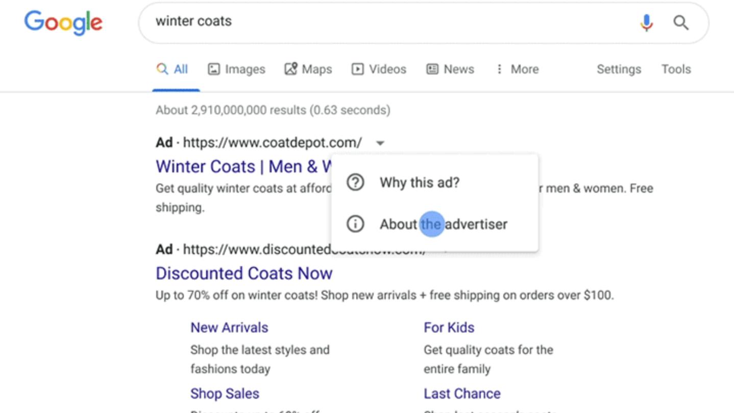 Google implementará un programa de verificación de identidad para todos los anunciantes