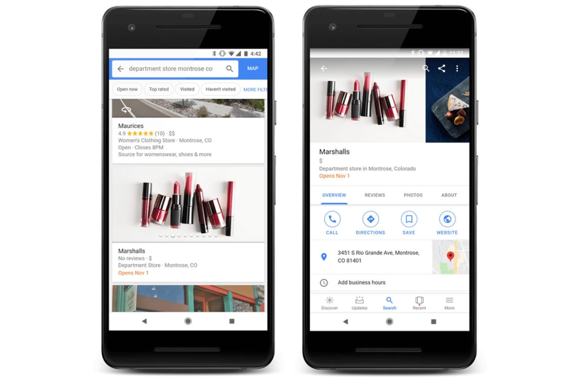 """El botón """"Seguir"""" de Google Maps ofrece a las empresas una nueva forma de conectarse con los usuarios"""