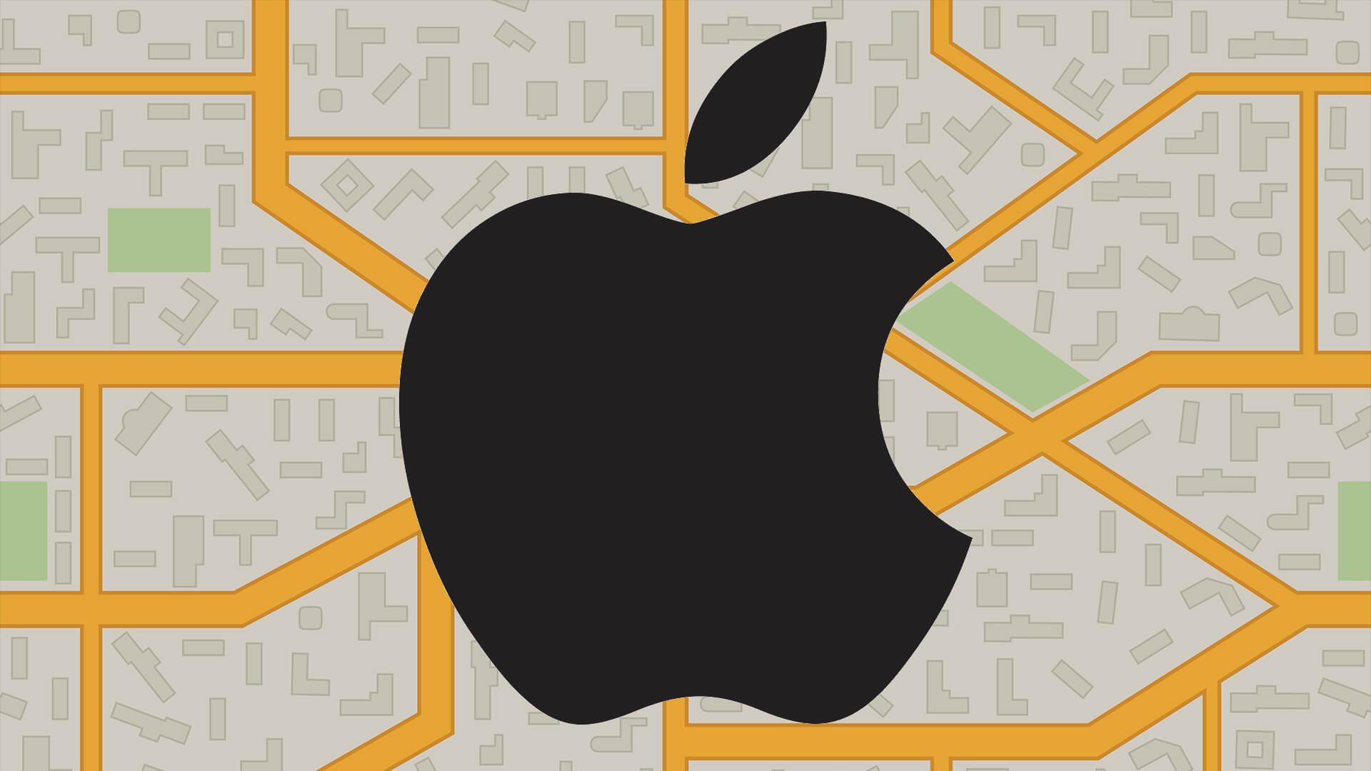 Apple Maps da un paso en la dirección correcta