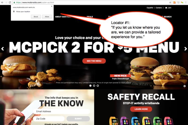 Localizador de McDonalds