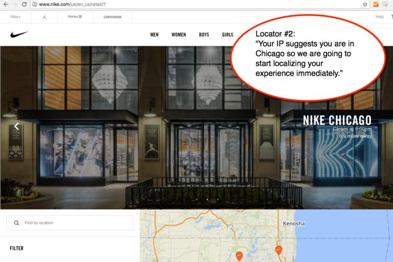 Localizador Nike