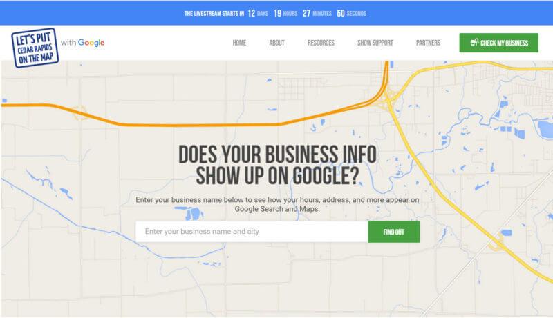 Programa en línea de Google Get Your Business