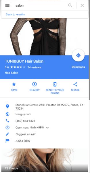 Imágenes de perfil de Google: falla al enmarcar la foto correctamente