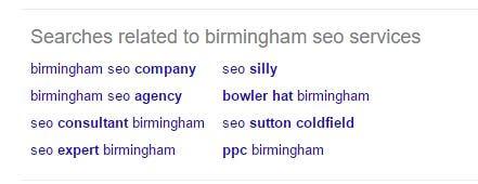 búsquedas relacionadas influenciadas por la búsqueda de marca