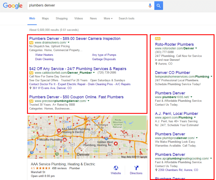 fontaneros-denver-google-search