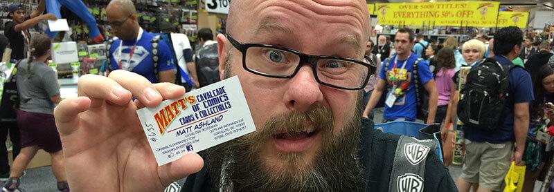 Lecciones de SEO local de ComicCon: coloque sus URL sociales en sus tarjetas de presentación