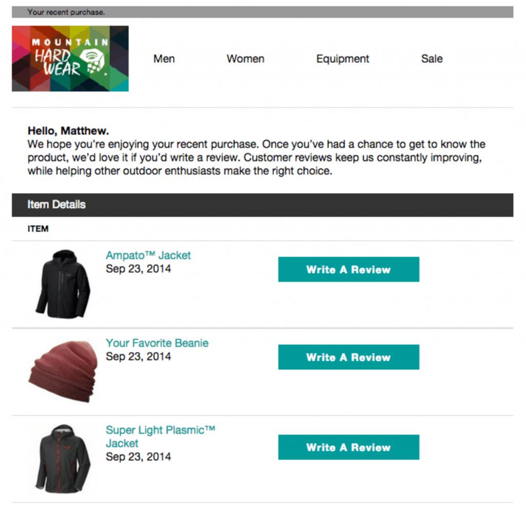 Respuestas automáticas de WordPress: solicitud de revisión de hardware de montaña