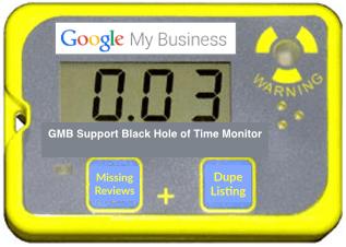 Dosímetro de soporte GMB