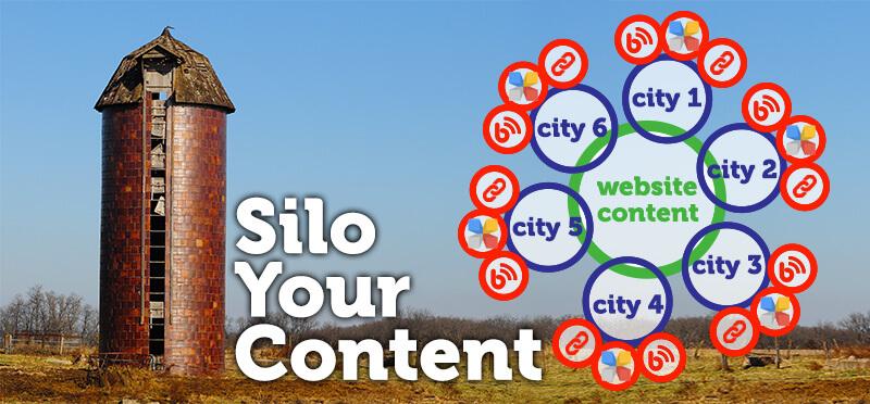 Los silos de contenido local ayudan a demostrar la relevancia local para las empresas de múltiples ubicaciones
