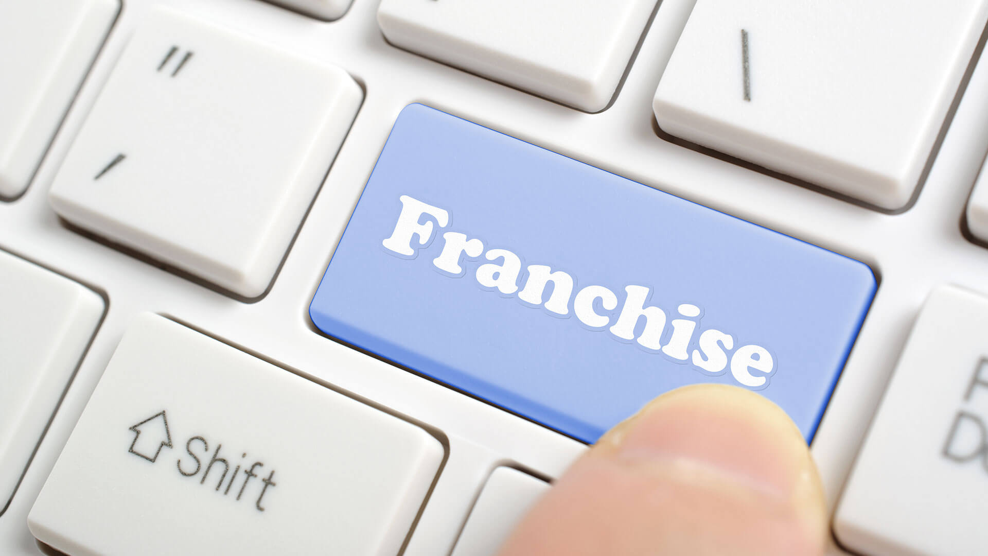 Franchise Keyboard Button Image - Search Influence