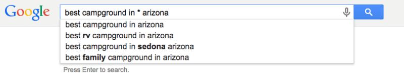 Uso de sugerencias de Google para la investigación de palabras clave