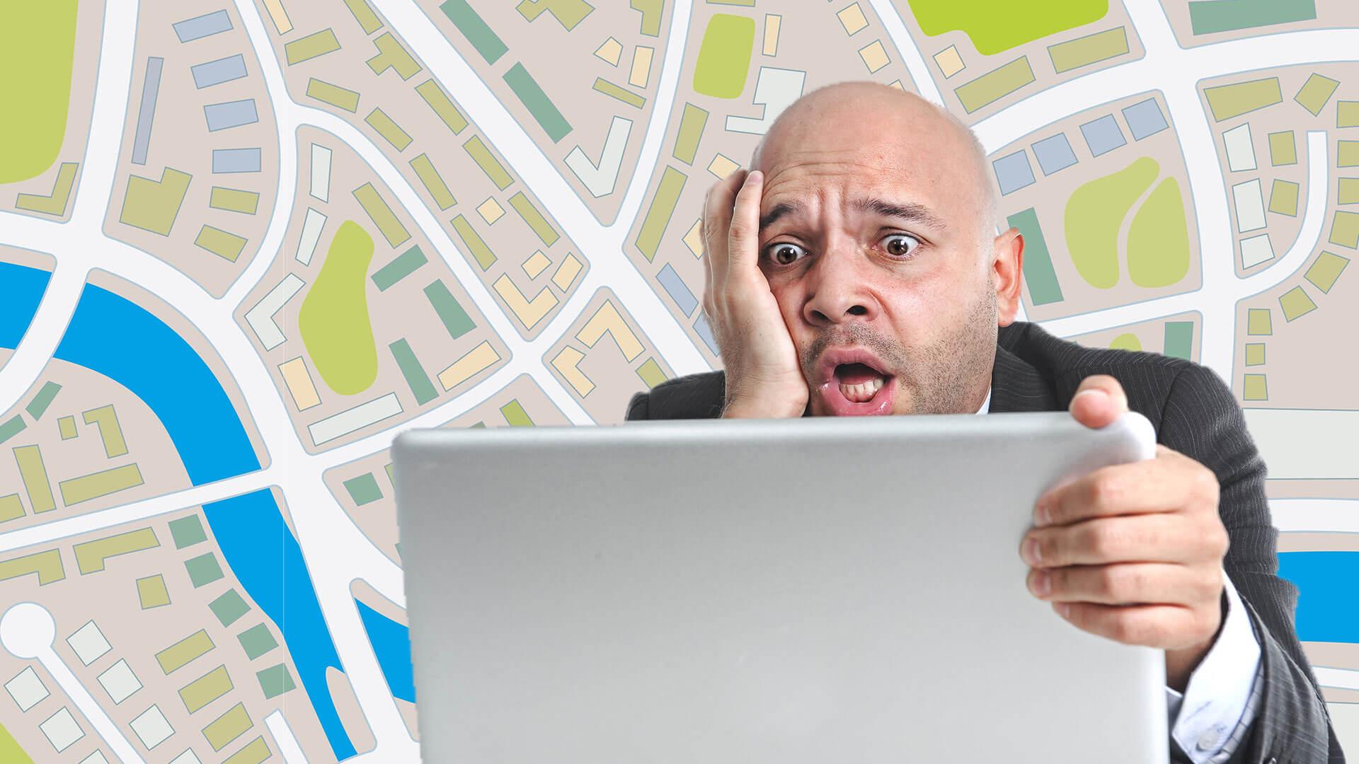 10 errores comunes que se deben evitar en los sitios web locales