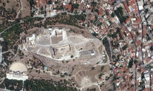 BingMaps-Partenón Grecia