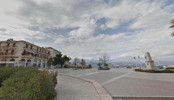 Ciudad portuaria de Grecia de Nafplio