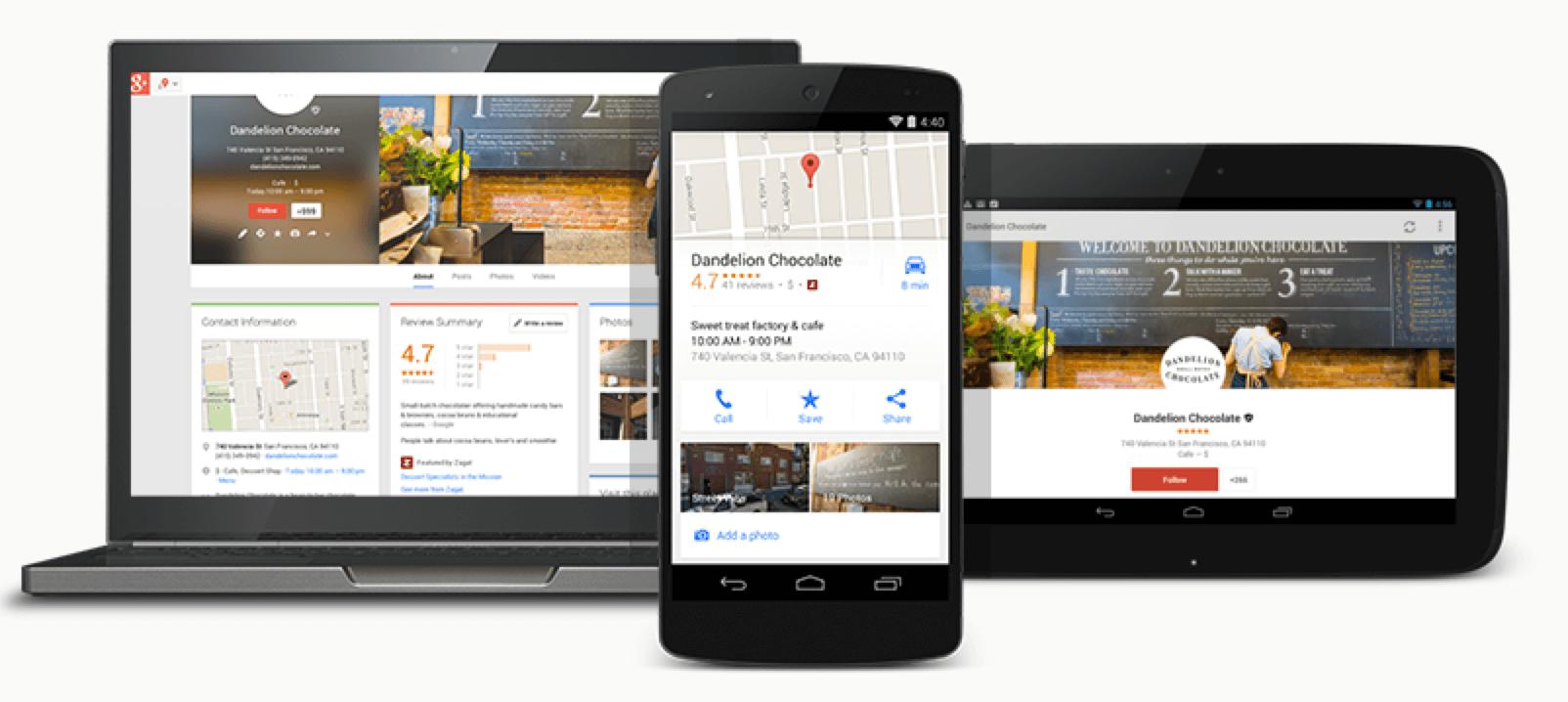 """El nuevo """"Google My Business"""" simplifica el marketing local para las pymes"""