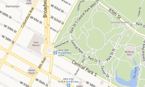 Bing Maps Park Trails and Road antes