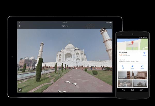 Google Maps explora lugares de vacaciones