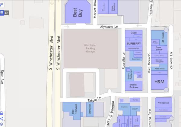Mapas interiores de Yahoo
