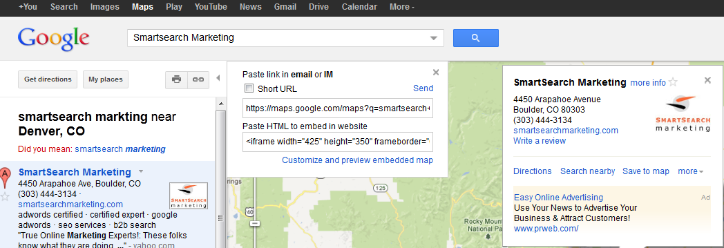 SSM-Google-Local