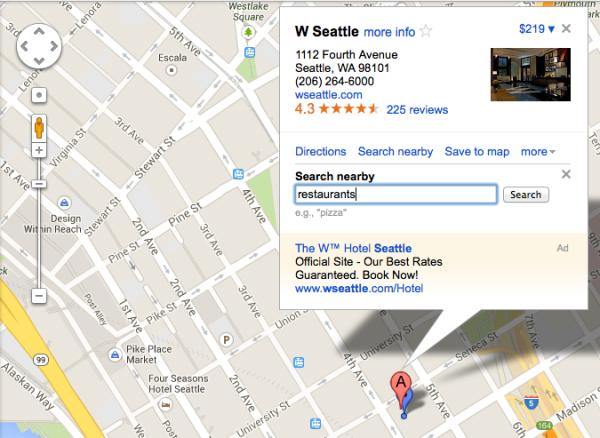 Google Maps antiguo