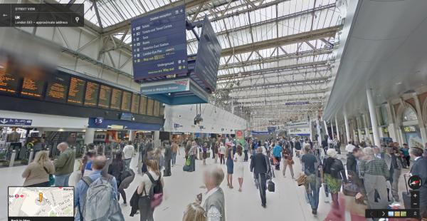 Google Street View Londres