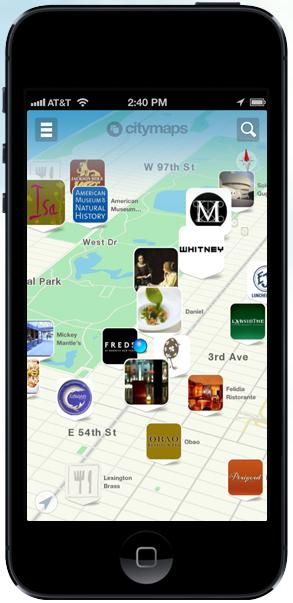 New CityMaps espera competir con contenido social y editorial