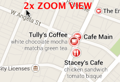 Tullys Google Maps 2x Zoom