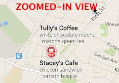 Tullys Google Maps ampliado