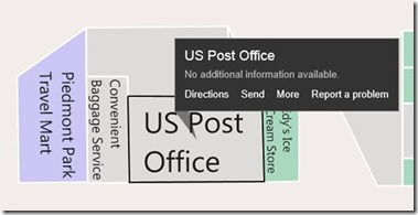 Bing Map informa un problema