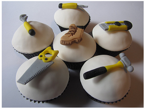 Going the extra nile - plumbers with cakes