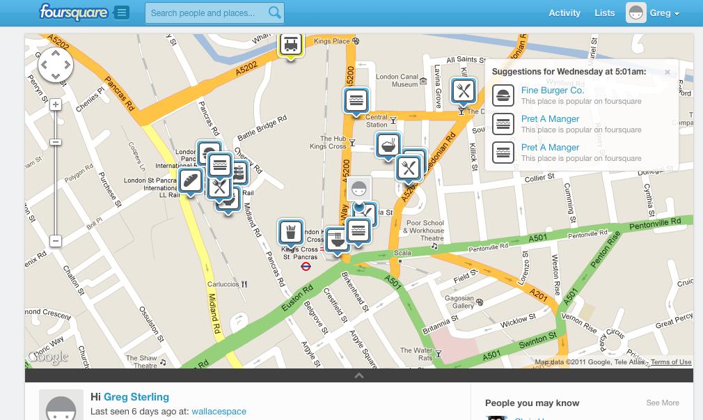 El rediseño de Foursquare crea más oportunidades para los usuarios y anunciantes
