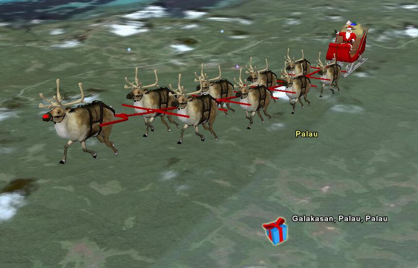 NORAD Santa 2007