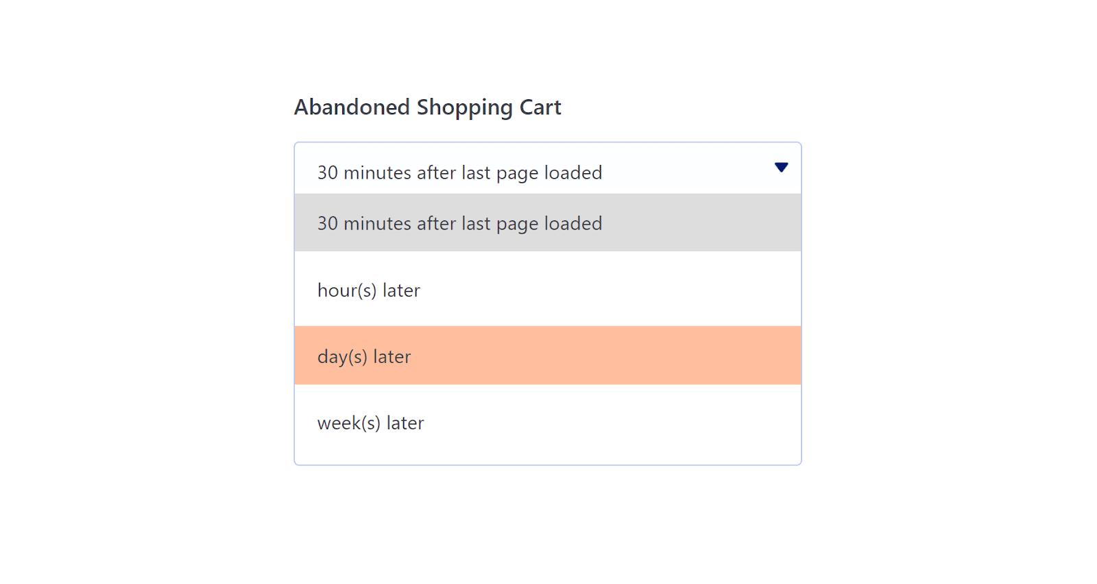 Cómo enviar correos electrónicos de carritos abandonados de WooCommerce: programación