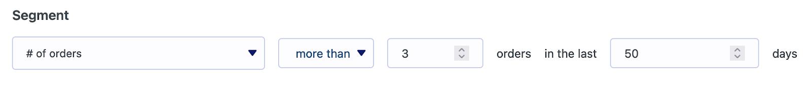 Segmentar por número de pedidos de WooCommerce en MailPoet