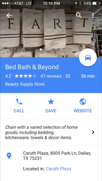 Error en la imagen de perfil de Google
