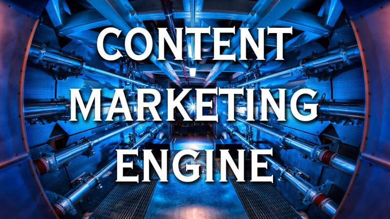 El motor de marketing de contenidos