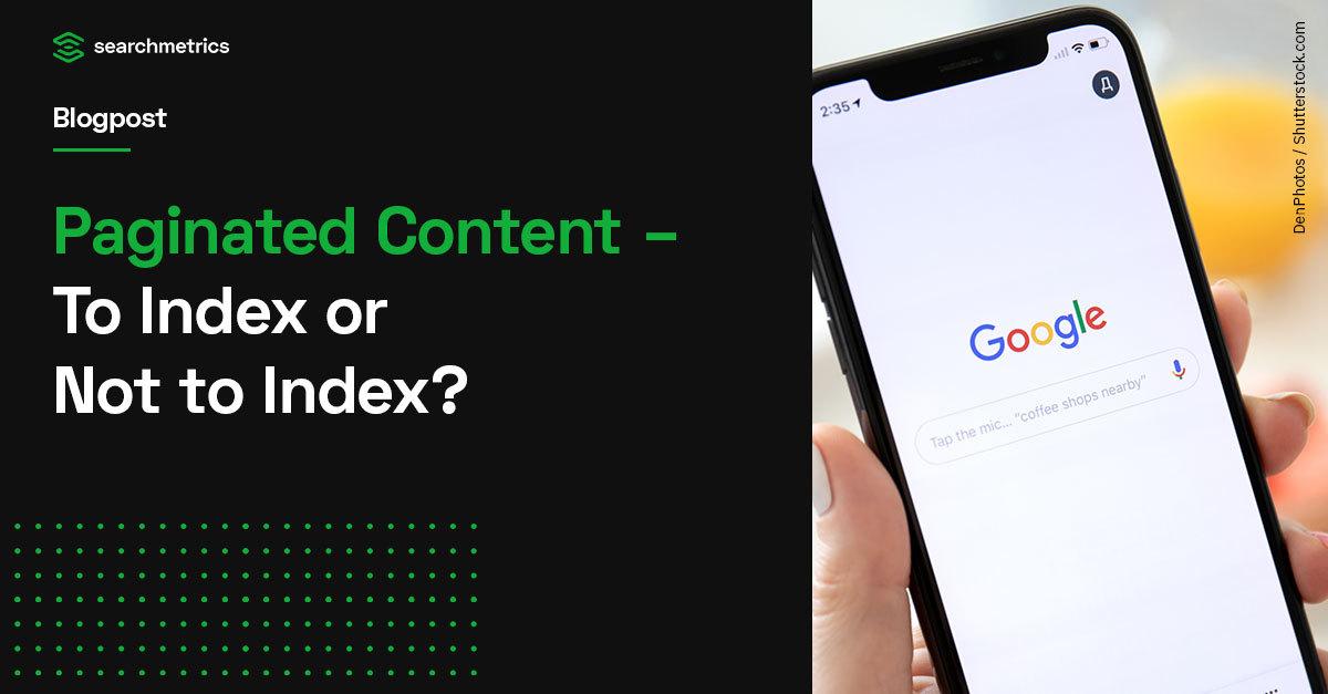 Agosto de 2020 Centro para webmasters de Google: paginación e indexación