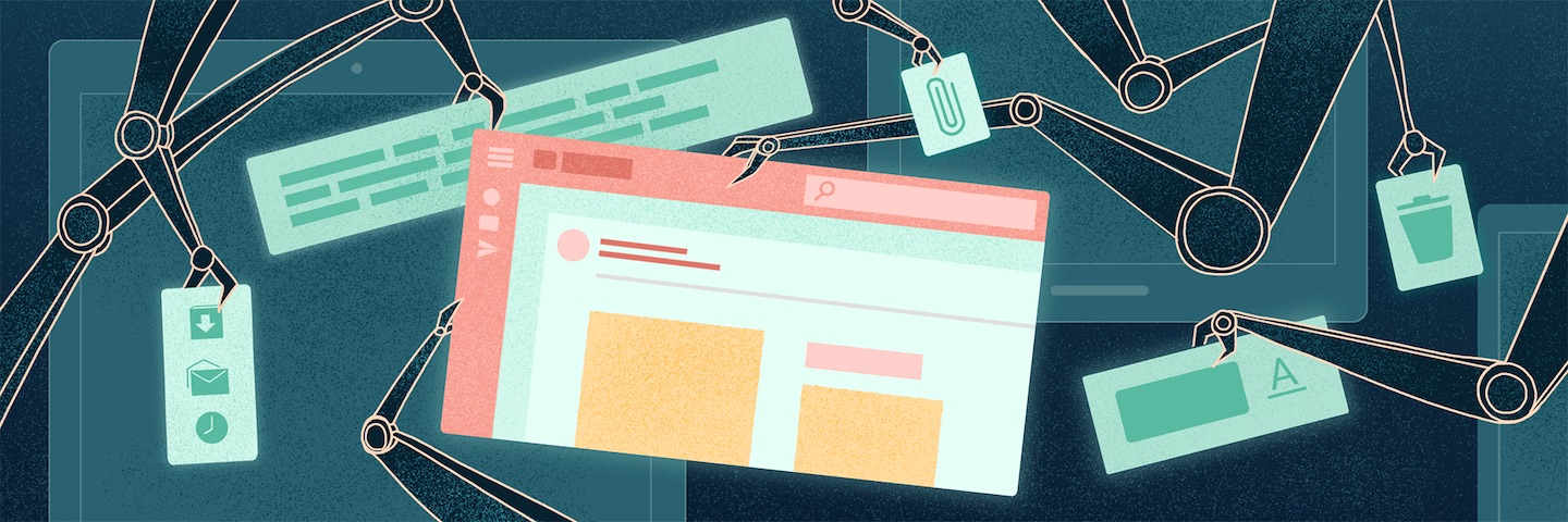 illustration of an email autoresponder
