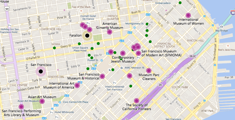 Nuevos mapas de Bing