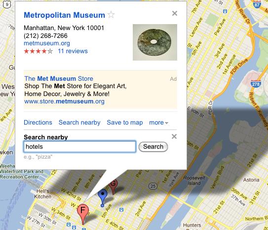 """""""Buscar hoteles por tiempo de viaje"""" de Google ofrece algo de esa """"innovación"""" de la que hablaba Google"""